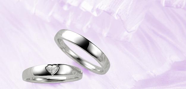 結婚指輪ーHAPPY HEART