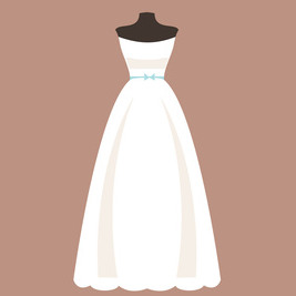 ウェディングドレス Aライン
