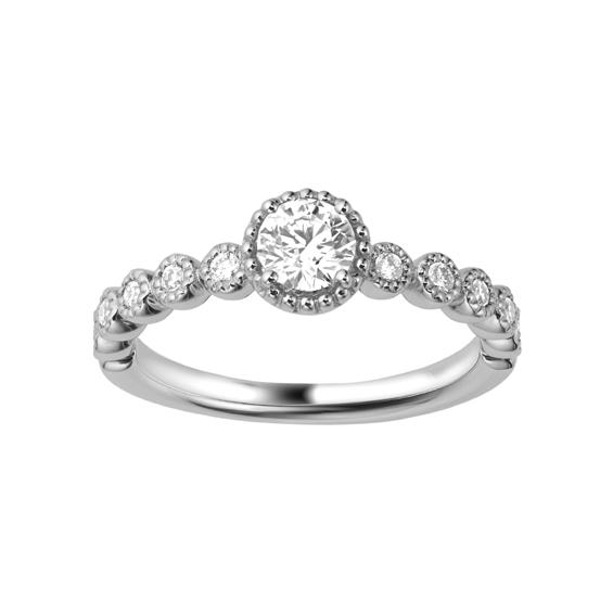 ポンテヴェキオ Ponte Vecchio MILLE AMORE ミルアモーレ 婚約指輪 エンゲージリング